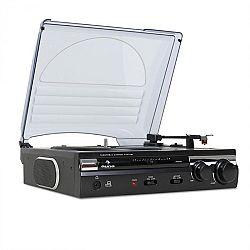 Auna 182TT, USB gramofon, MP3 nahrávání, AUX, PC, MAC