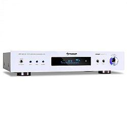 Auna AMP-9200, 600 W, zesilovač prostorového zvuku, bílý design