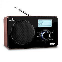 Auna Worldwide internetové rádio, síťový přehrávač, WLAN/LAN, DAB/DAB+, FM, USB, AUX