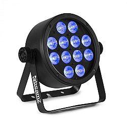 Beamz BAC304, ProPar, 12x18W, 4v1 LED RGBW diody, stmívání, dálkový ovladač