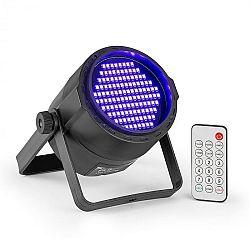 Beamz BeamZ PLS20 Blacklight UV Par, LED reflektor, 120x 3528 LED diody, akumulátor, dálkové ovládání