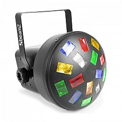 Beamz LED Mini Mushroom 6x 3W RGBW LEDek, automatický režim a režim ovládání pomocí hudby