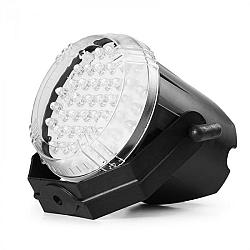 Beamz LED Strobe, bílý, LED stroboskopický efekt