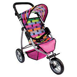 BINO 82912 Dětský kočárek tříkolový