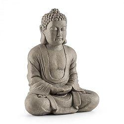 Blumfeldt Siddhartha, socha, 60 cm, sklolaminát cement, vzhled přírodního kamene