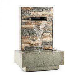 Blumfeldt Watergate, zahradní fontána, vnitřní/vnější prostředí, 15 W čerpadlo, 10 m kabel, pozinkovaná