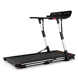 Capital Sports OUTRUN 2xC, běžecký pás, 1-12 km/h, LED-Display, dřevěné detaily