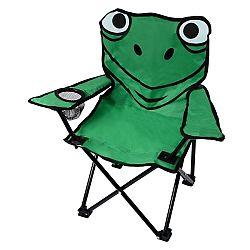 Cattara Frog zelená Dětská kempingová židle