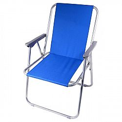Cattara skládací židle BERN modrá