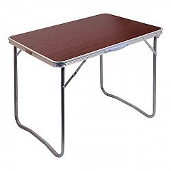 Cattara Stůl kempingový skládací BALATON hnědý