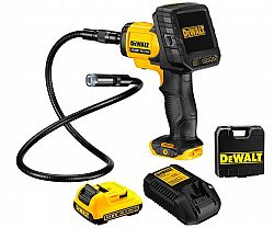 DeWALT DCT410D1 aku inspekční kamera 17mm/90cm XR 10.8V 1X2.0Ah
