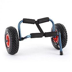 DURAMAXX Sea Mule BL, modrý, vozík na kajak, podpěra, hliník, eloxovaný, skládací