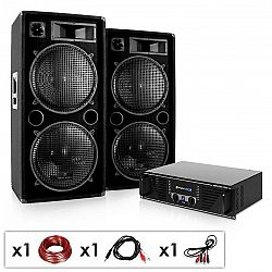 "Electronic-Star DJ set ""Phuket Pulsar"", zesilovač, 2x repro"