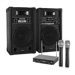 Electronic-Star Karaoke set STAR-10, repro, bezdrátový mikrofonový set