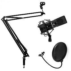 Electronic-Star Set Pop filtr, mikrofónní rameno a kondenzátorový mikrofon