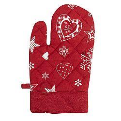 Forbyt Vánoční chňapka 2013 červená, 18 x 28 cm