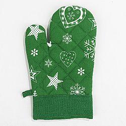 Forbyt Vánoční chňapka 2013 zelená, 18 x 28 cm