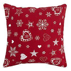 Forbyt Vánoční povlak na polštářek 2013 červená, 40 x 40 cm