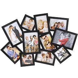 Fotorámeček People na 11 fotografií, černá