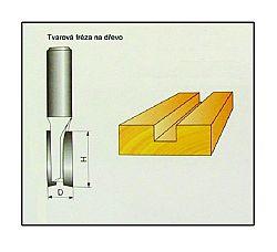 Fréza tvarová do dřeva F11 - 12x19mm