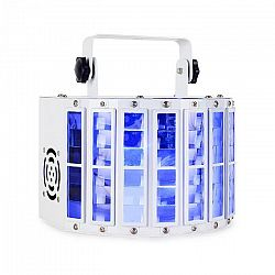 Ibiza LED Derby LED diodový efekt, DMX, RGBW