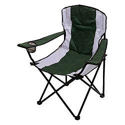 Kempingová židle Cattara Dublin zeleno- bílá