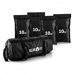 KLARFIT Force Bag, zátěžový pytel, sandbag, 18 kg