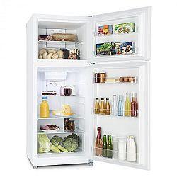 Klarstein Big Brother, bílá, kombinovaná chladnička s mrazničkou, 371 l, 281/90 l, A +