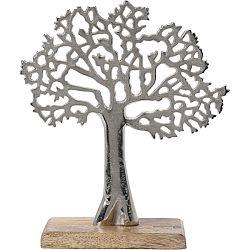 Koopman Kovový dekorační strom, 23 x 8 x 27 cm