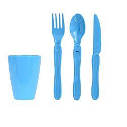 Koopman Sada plastového nádobí Piknik, 31 ks,
