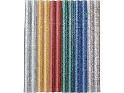 Lepidlo tavné barevné třpytky 12ks Extol Craft - 7mm