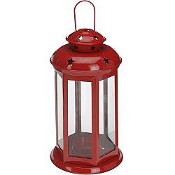 Lucerna na čajovou svíčku Tharsis, červená