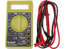 Multimetr digitální se signalizací Extol Craft 600011
