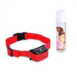 OneConcept Balu, výcvikový obojek pro psy, včetně spreje, červený