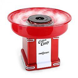 OneConcept Candyland 2, 500 W, červený, retro přístroj na přípravu cukrové vaty