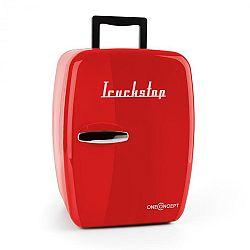 OneConcept Truckstop, červený, termobox s funkcí chlazení/udržení v teple, 14 litrů, 12 V adaptér