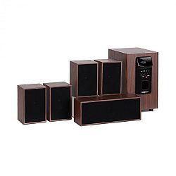 OneConcept Woodpecker, 5.1 zvukový systém, výstupní výkon 45 W RMS,  design dřeva