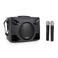 Ozvučovací zařízení Ibiza Port85VHF, USB, SD, 2x mikr