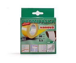 Páska vanová bílá Promi - 38mm