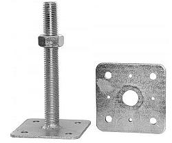 Patka volná příruba - 110x110/M24/250mm