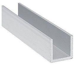 Profil hliníkový U Domax PC - 8.0x8x1.0mm/1m PC1