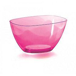 Prosperplast Dekorativní miska Coubi růžová, 20 cm, 20 cm