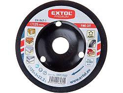 Rašple rotační 125mm Extol Premium - jemný sek 8803707