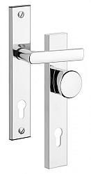 Rostex 802 bezpečnostní kování - klika-knoflík 90 Bronz