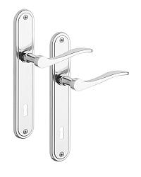 Rostex Elegant dveřní kování - klika - knoflík pro vložku Cr Nerez