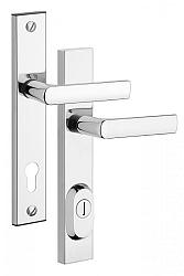 Rostex R4 bezpečnostní kování - klika-klika 90 Bronz