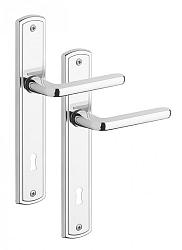 Rostex Strato štítové dveřní kování - WC 90mm Cr Nerez