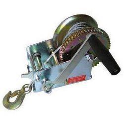 Ruční lanový naviják s hákem - 1200kg/5mm/10m