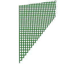 Síťovina zelená kovová 100cm