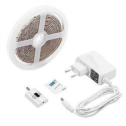 Solight WM505 LED stmívatelný pásek s bezdotykovým ovládáním, 3m, 180 LED, 4000K, IP65, 230V